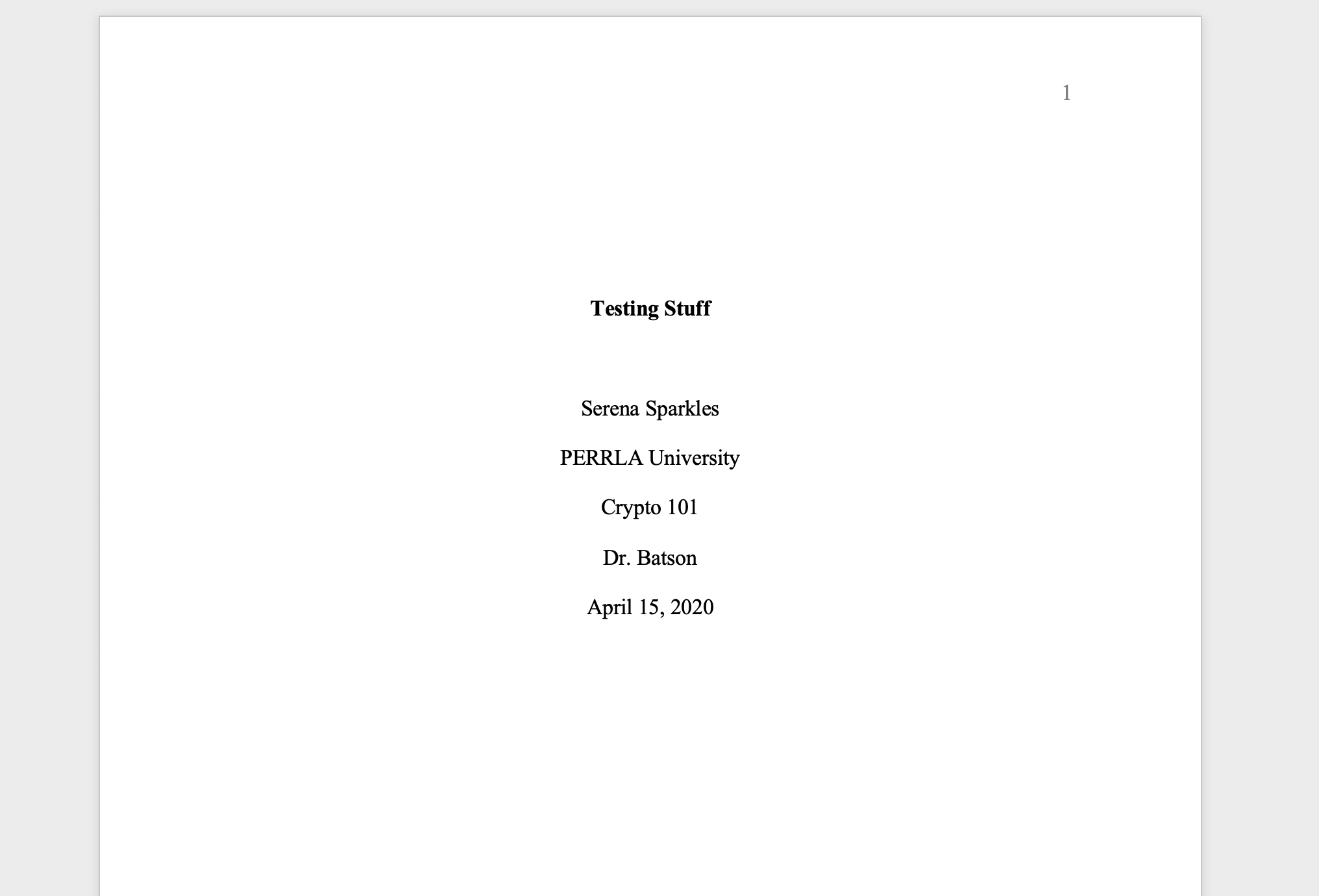 Apa 6th edition research paper cover page